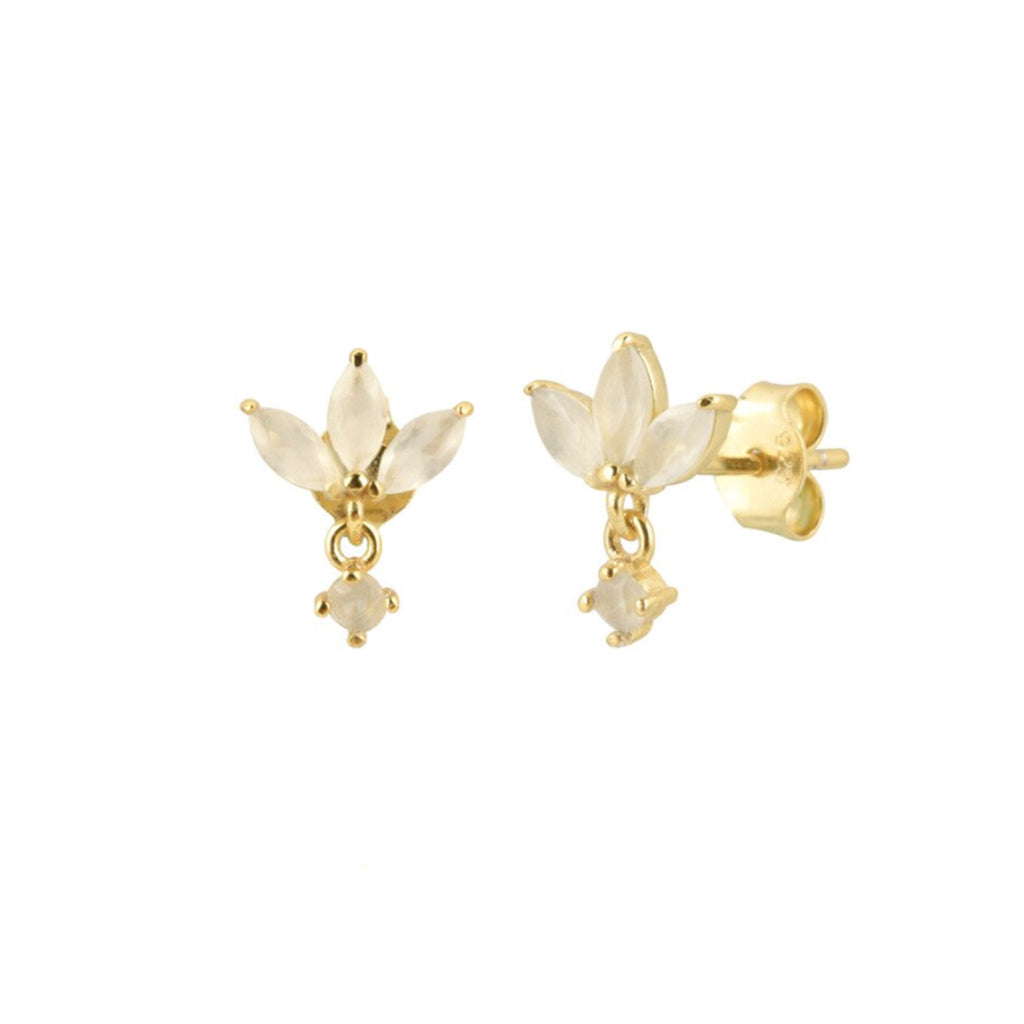 Isabel Moonstone Earrings