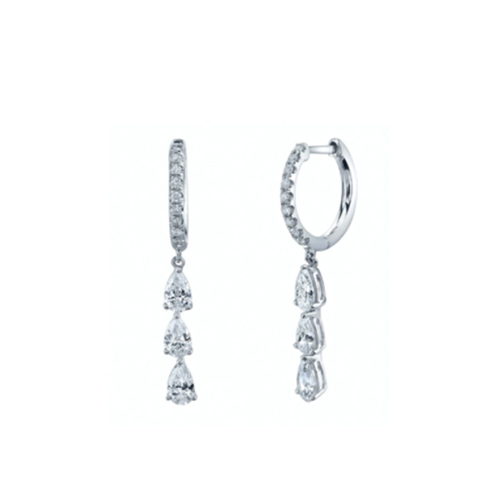 Scarlet Earrings - Silver
