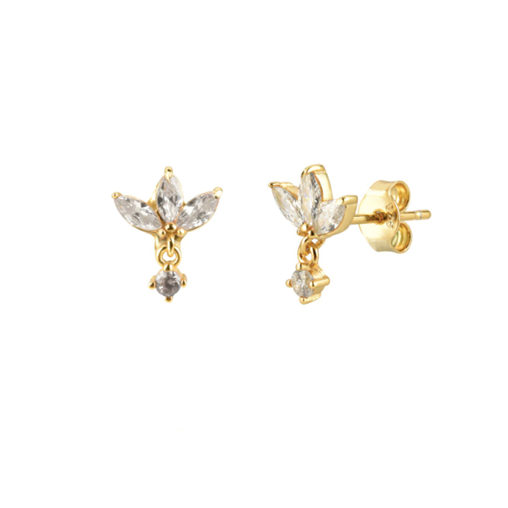 Isabel Crystal Earrings