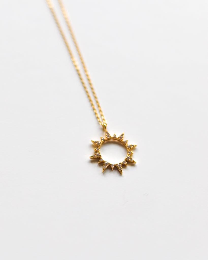Give me Sun Pendant Necklace