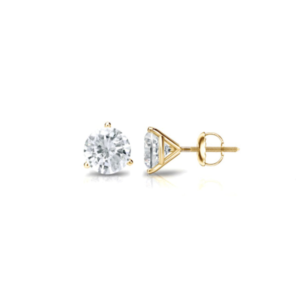 14K SOLID GOLD STUDS