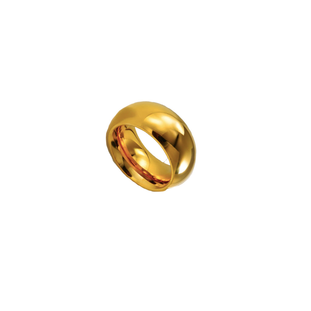 Dome Gold Ring