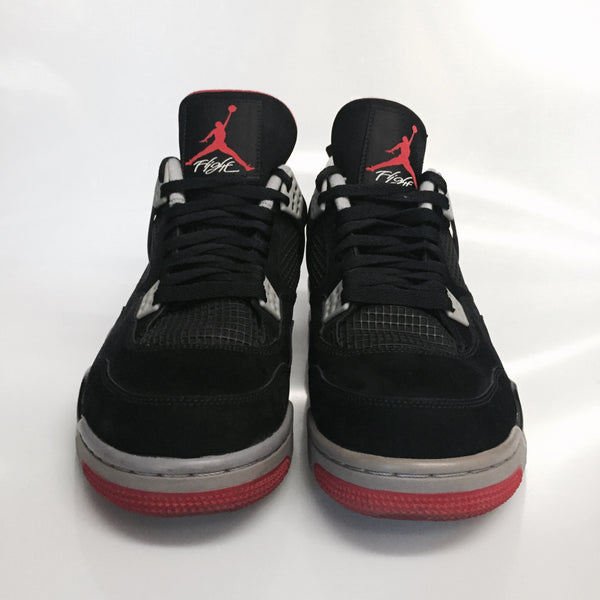 "Air Jordan 4 ""Bred"" Size 11 Pre Owned"