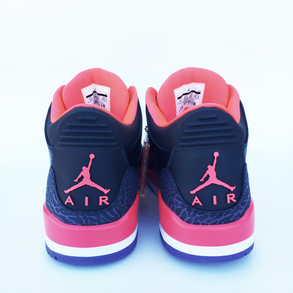 "Air Jordan 3 ""Crimson"" Size 9.5 DS"