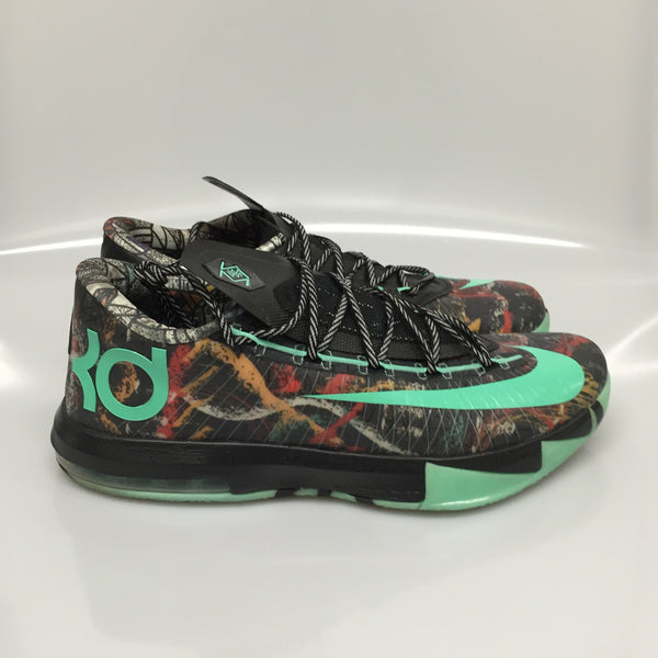"KD 6 AS ""Gumbo"" Size 11.5 Pre-Owned"