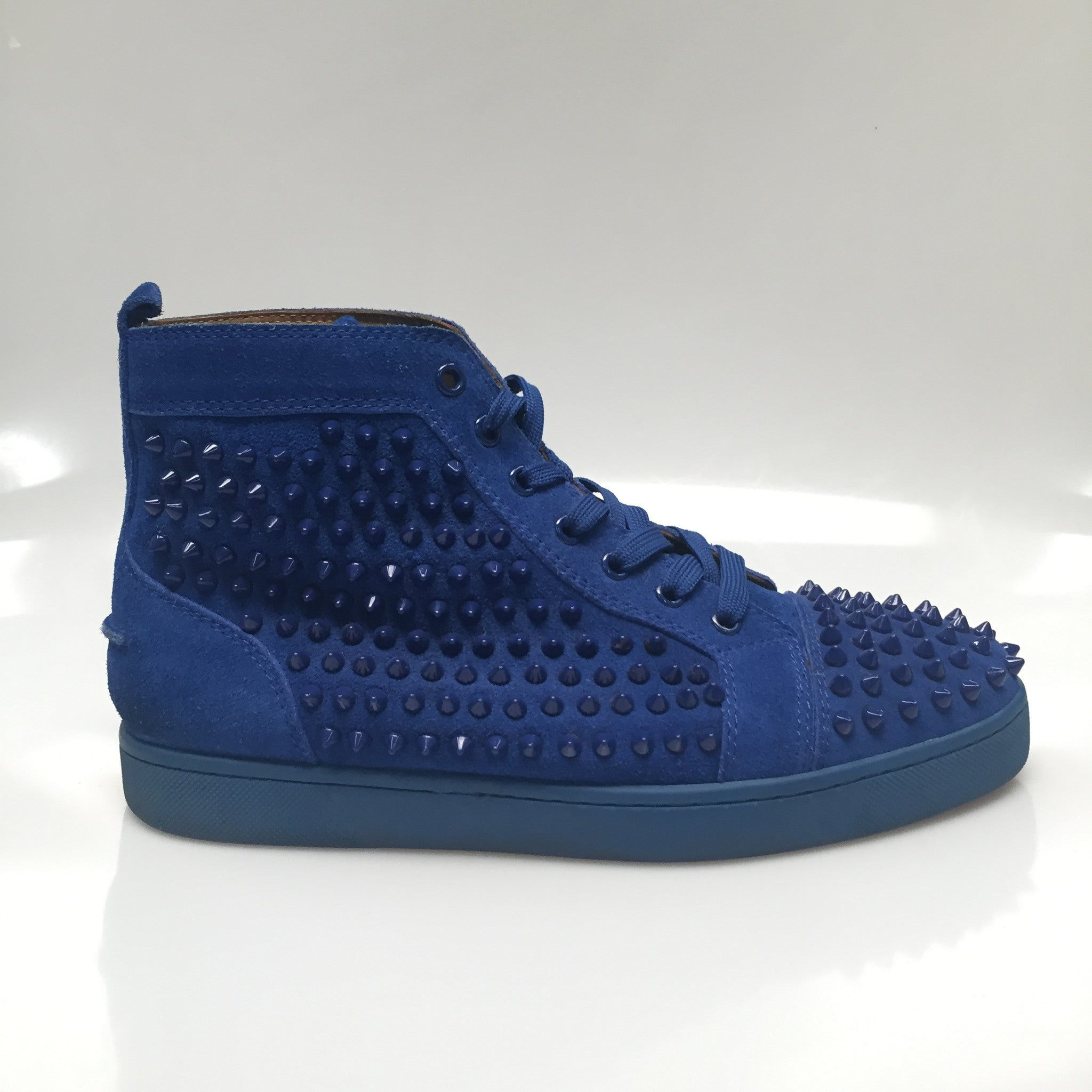 "Christian Louboutin ""Louis Spikes"" Size 42 PreOwned"