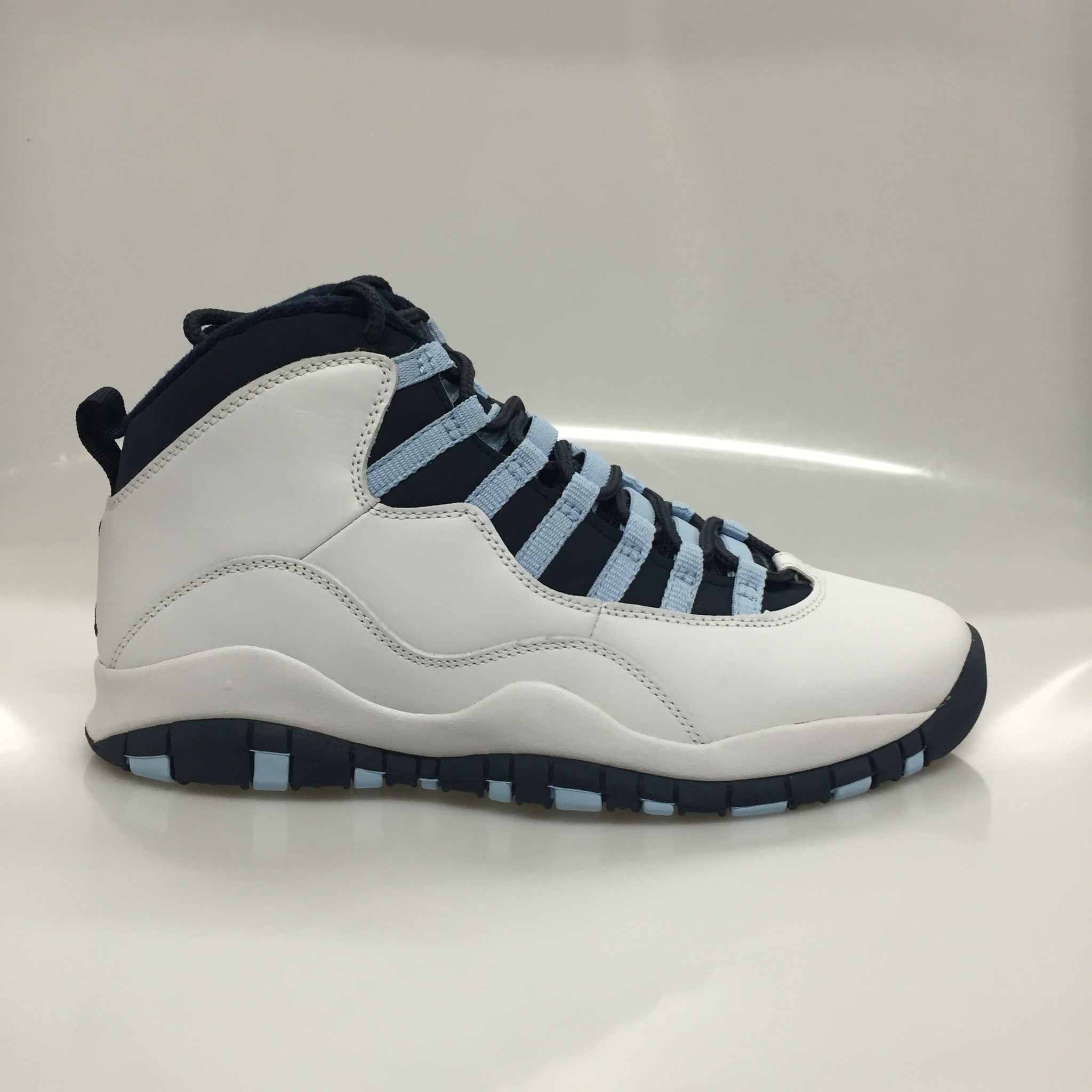 "Air Jordan 10 2005 ""Ice Blue"" Size 8.5 DS"