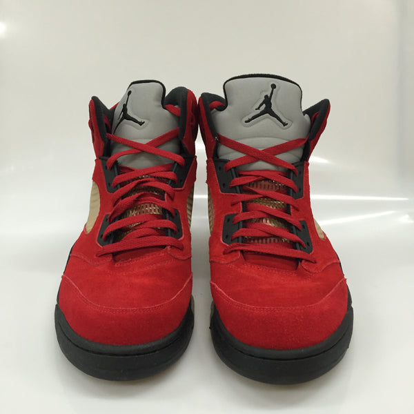 "Air Jordan 5 Raging Bull ""Red Suede"" Size 15 DS"