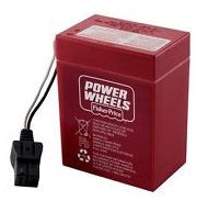 00801-0712 : 6 volt battery for Power Wheels