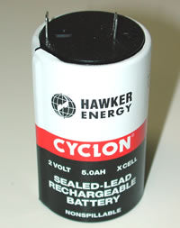 Hawker Energy Cyclon Sealed-Lead Rechargeable Battery