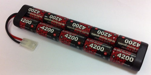10EP4200SC : 12 volt 4200mAh NiMH Rechargeable Battery Pack