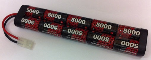 10EP5000SC : 12 volt 5000mAh NiMH Rechargeable Battery Pack