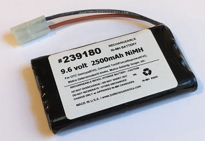 239180: 9.6 volt  rechargeable NiMH battery for OTC, Genisys, EVO, Matco, Cornwell
