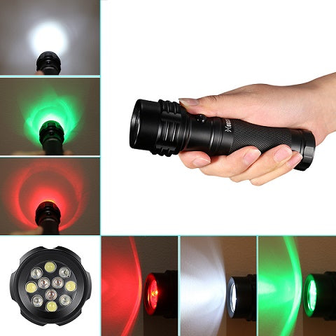 3-Color-Flashlight