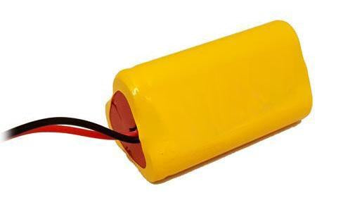 3KR1100AAU-TRI : 3.6v 1100mAh NiCd battery for Exit signs, Shavers etc.