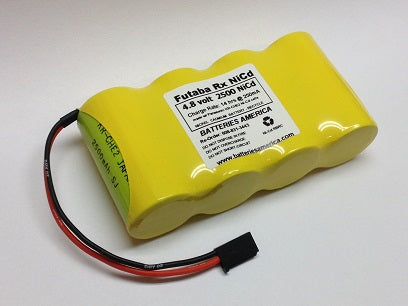 4N3000CRW : 4.8 volt 3000mAh C-size rechargeable NiCd