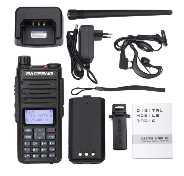 DM-1801: Baofeng Digital Dual Band Transceiver handheld radio