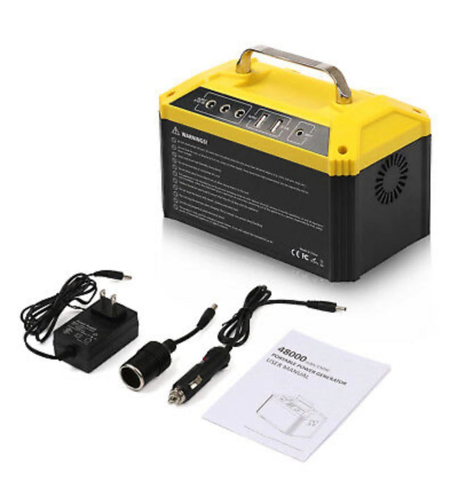 PowerStation: 150W 48000mAh AC/DC portable power station