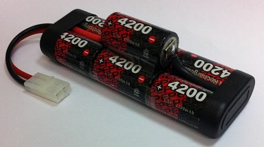 7EP4200SCH : 8.4 volt 4200mAh NiMH Rechargeable Battery Pack