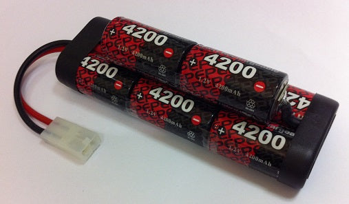 8EP4200SCH : 9.6 volt 4200mAh NiMH Rechargeable Battery Pack