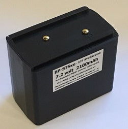 BP-STSxe : 7.2v ready-to-use NiMH battery for STS AV7600 Air Band radios