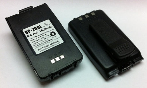 BP-200L : 9.6 volt 1000mAh rechargeable LONG LIFE Ni-MH Battery Pack