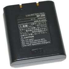 BP-206: 3.6 volt Li-ION battery for ICOM receivers