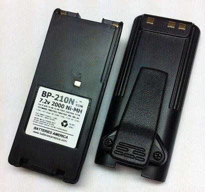BP-210N : 7.2 volt 2000mAh battery for ICOM