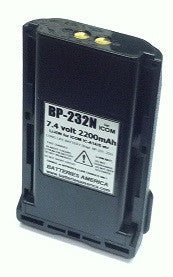 BP-232N : 7.4v 2200mAh Li-ION battery for ICOM