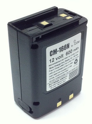 CM-166N : 12 volt 600mAh rechargeable Ni-Cd battery pack