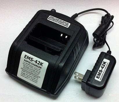 EMS-42K : Charger for Kenwood PB-42L PB-42XL batteries