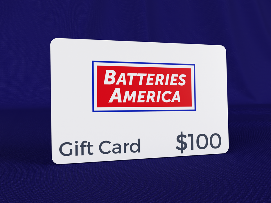 Batteries America Gift Card