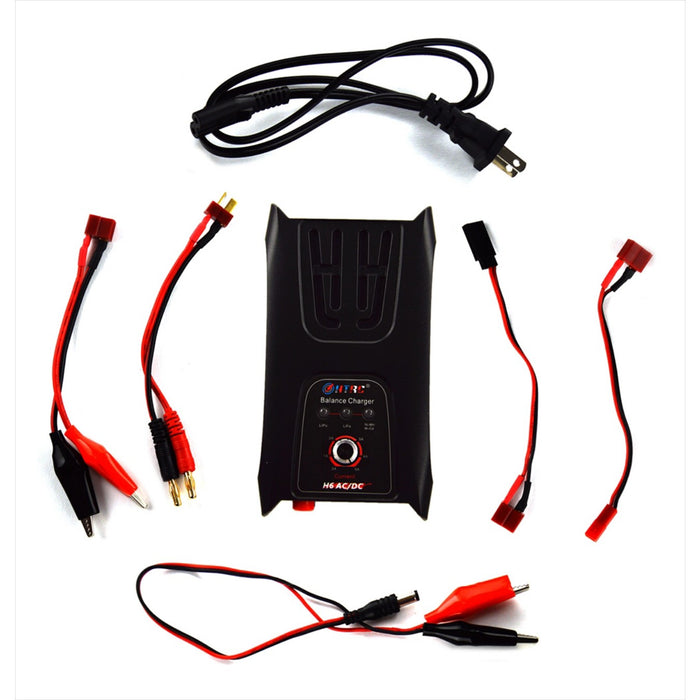 H6AC : Smart Universal RC Charger for Li-PO, Li-FE, NiCd, NiMH