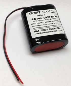 4AP1000SC-B: Battery for KRAFT 7C transmitter