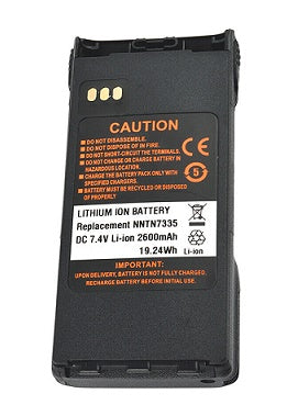 NNTN7335: 7.4v 2600mAh rechargeable Li-ION battery for Motorola