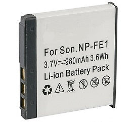 NP-FE1: 3.6v 950mAh Li-ION battery for SONY digital cameras