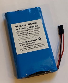 BP-800xe : 9.6v 2100mAh Pre-charged Ni-MH battery pack