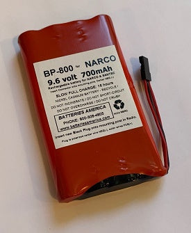 BP-800 : 9.6volt 700mAh Ni-Cd battery