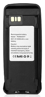 PMNN4077 : 2500mAh Li-ION battery for Motorola XPR, DP, XiR radios