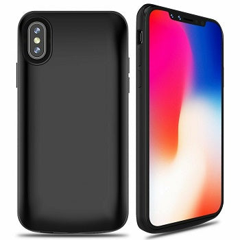 iPX-5000: PowerCase for iPhone X, XS  - 5000mAh Power Bank & Protector