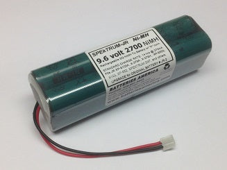 SPM9521 : 9.6v NiMH battery for SPEkTRUM & JR transmitters