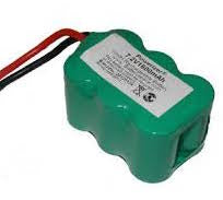 6EP1600MP: 7.2 volt 1600mAh NiMH battery for RC