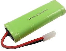 N1900SCRMP: 1900mAh (N-1900SCR Sub-C) High-Output Ni-Cd Motor Battery Packs
