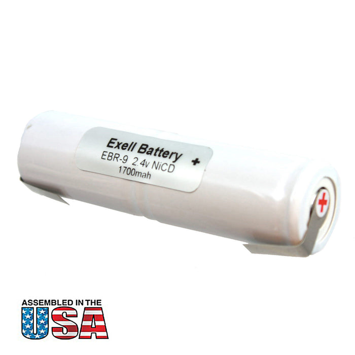 Exell 2.4V Razor Replacement Battery For Interstate Batteries ANIC0207 WM17