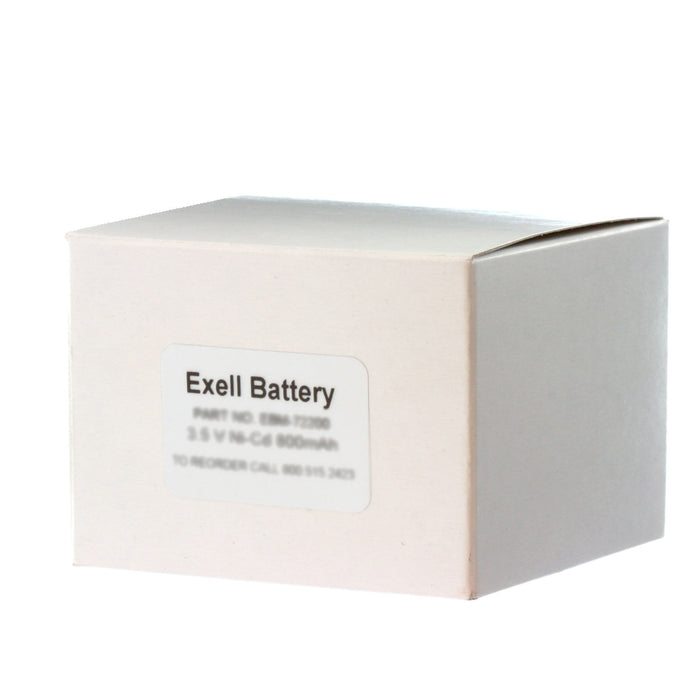 EBR-9 Razor Battery For Isotip 0040, 0040001, 41B001RD531, 7500