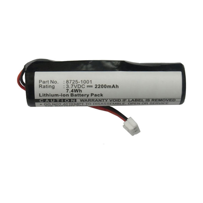 EBWHL-6: 3.7 volt 2200mAh Li-Ion Rechargeable Wahl Eclipse 9 Razor Replacement Battery