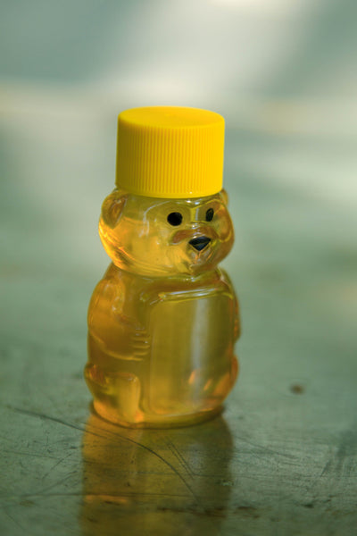Raw Clover Honey (2oz Plastic Bear)