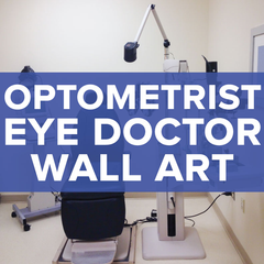 Optometrist Office / Eye Doctor Wall Decals