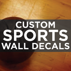 Custom Sports Wall Decals