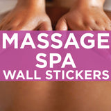 massage and spa wall stickers